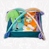 """Детский коврик-манеж Homefort """"Слоник с мячиком"""", расцветки в ассортименте"""