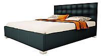 """Ліжко """"Теннессі"""" (шкірозамінник, спальне місце 160x200, без матраца), фото 1"""