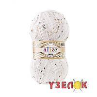 Alize Alpaca Tweed №55 белый