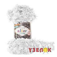 Alize Puffy Fur №6100 белый