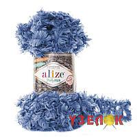 Alize Puffy Fur №6116 голубой