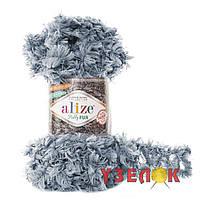 Alize Puffy Fur №6107 пепельный