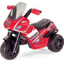 Детский мотоцикл с электроприводом Peg-Perego Desmosedici Rider VR