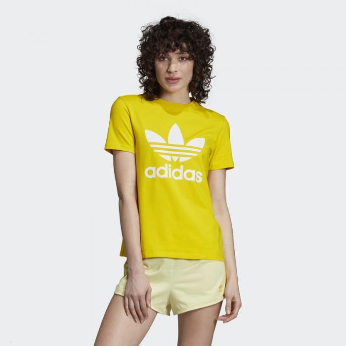Женская футболка Adidas Originals Trefoil Logo ED7495