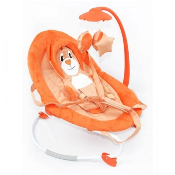Детский шезлонг Tilly BT-BB-0002, цвет оранжевый