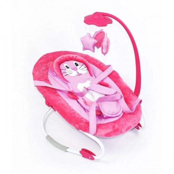 Детский шезлонг Tilly BT-BB-0002, цвет розовый