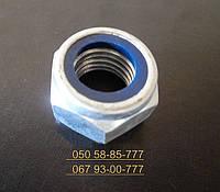 Гайка М20 DIN 985, ISO 10511 шестигранная с нейлоновым кольцом