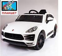 Детский электромобиль Porsche Cayenne style, цвет белый
