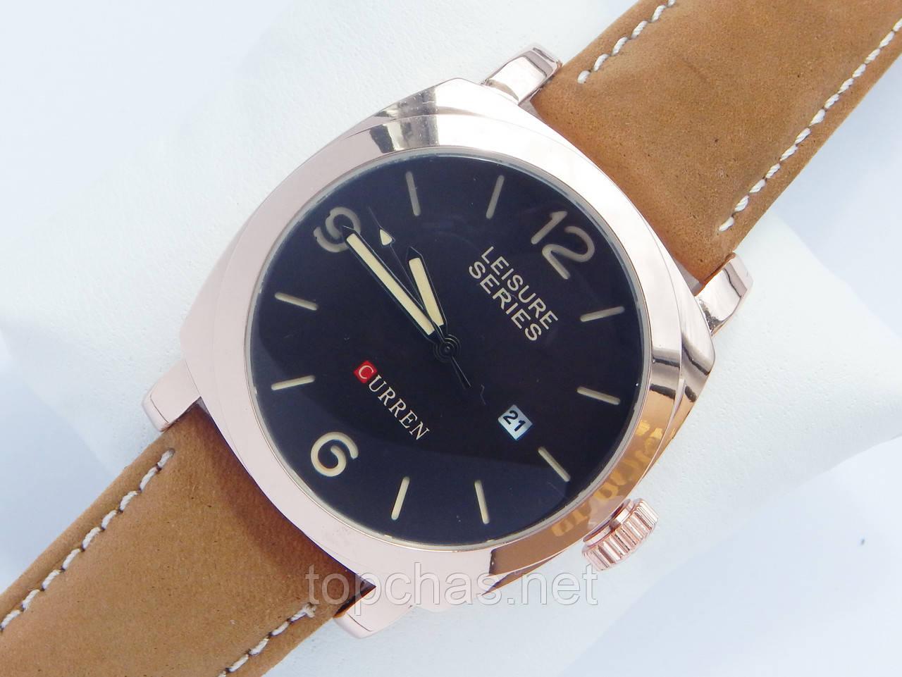 Мужские кварцевые наручные часы Curren Leisure Series, фото 1