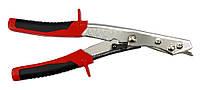 Ножницы по металлу вычечные с проходным резцом, 255 мм
