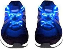 Шнурки smart Светящиеся шнурки Disco Blue SKU_508366