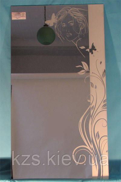 Зеркало с декоративным украшением арт.02.8.1
