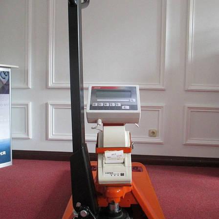 Ваги-рокла Axis 4BDU1000Р-В-П Практичний з принтером етикеток, фото 2