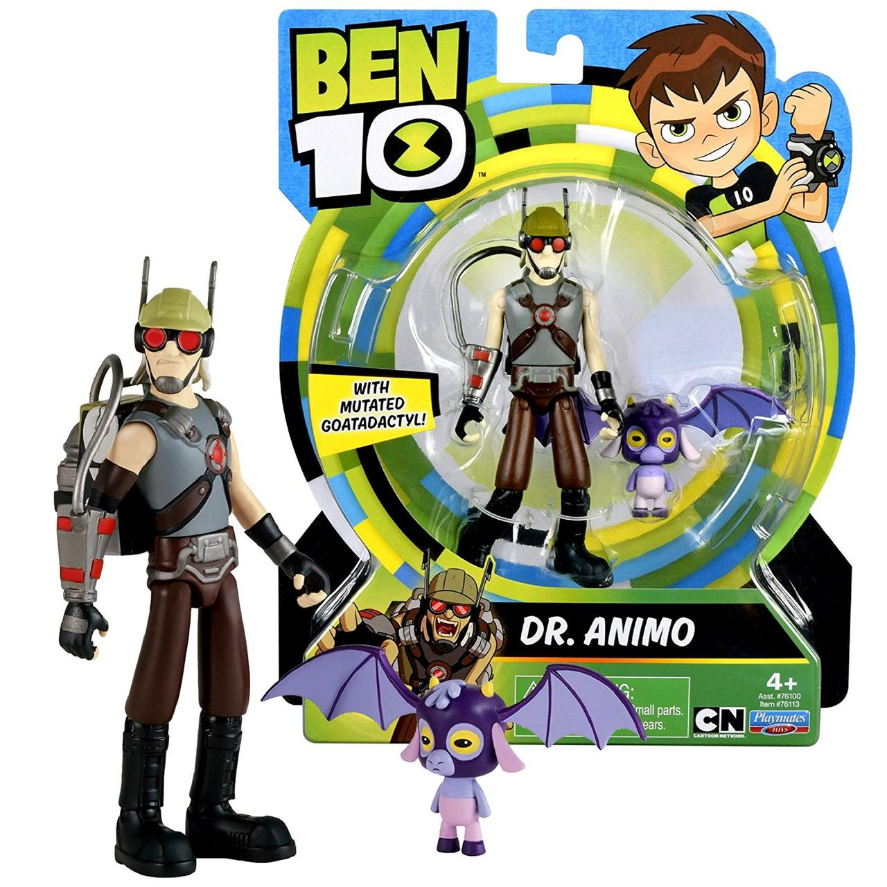 Бен 10 фигурка 12 см Доктор Анимо. Ben 10 Dr. Animo Оригинал из США