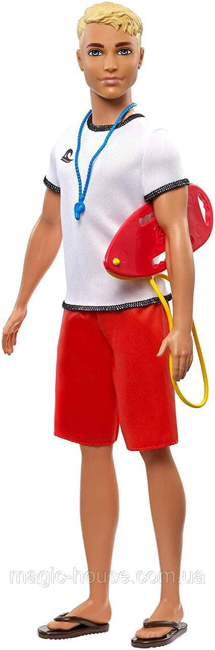 Кукла Barbie Кен Спасатель на пляжеОригиналот компании MATTEL