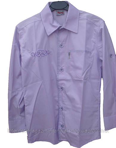 Мужская рубашка подростковая