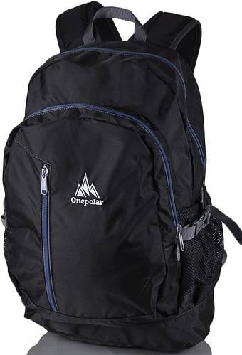 Удобный, оригинальный рюкзак 20 л. Onepolar W1800-grey серый