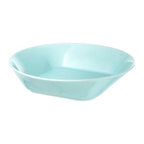 ИКЕА (IKEA) FORMIDABEL, 503.924.06, Тарелка глубокая, голубой, 20 см - ТОП ПРОДАЖ