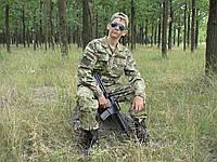 Детский военный костюм Киборг камуфляж Мультикам
