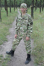 Детский военный костюм Киборг камуфляж Мультикам , фото 3
