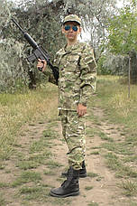 Детский военный костюм Киборг камуфляж Мультикам , фото 2