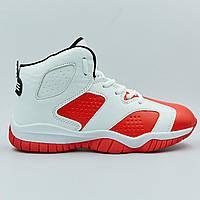 Кроссовки баскетбольные детские Jordan WHITE/RED
