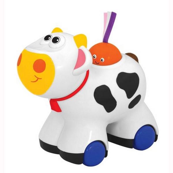 Іграшка-каталка Kiddieland - preschool - Корівка (звук)