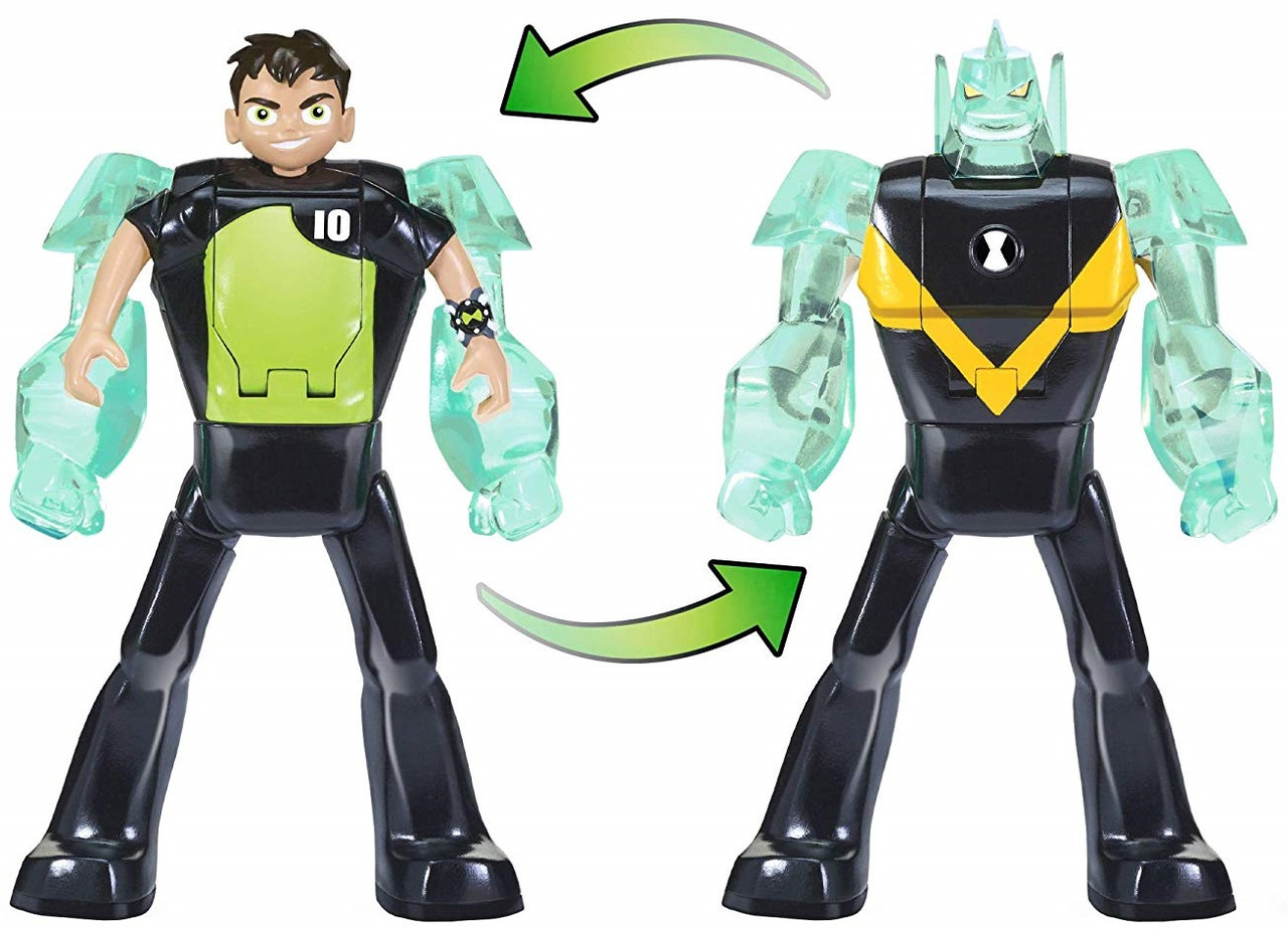 "Фигурка Ben 10 -трансформер ""Бен и Алмаз"" Ben 10 Ben to Diamondhead Оригинал из США"