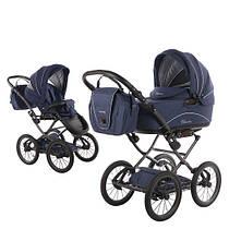 Классическая коляска 2 в 1 Knorr Baby - Classico, цвет emotion night blue