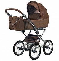 Классическая коляска Knorr Baby - Lumi Lum с кожаными вставками, цвет Braun