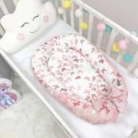 Кокон для новорожденных Маленькая Соня Baby Design Premium бабочки
