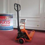 Гідравлічна візок-ваги Axis 4BDU2000Р-В-П Практичний з принтером