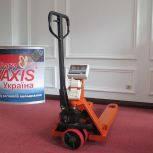 Гідравлічна візок-ваги Axis 4BDU2000Р-В-П Практичний з принтером, фото 2