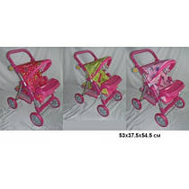 Коляска для куклы Melogo - 9337, расцветки в ассортименте