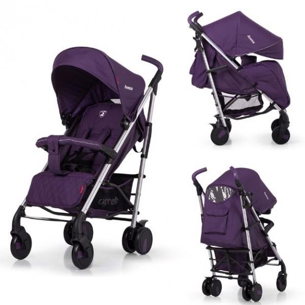 Коляска-трость Carrello Arena CRL-8504, цвет Ultra Violet