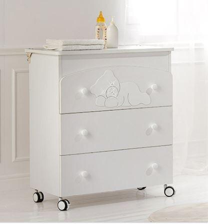 Комод-пеленатор Baby Expert Coccolo Lux Bianco