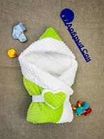 """Конверт-одеяло для малыша Добрый Сон """"Сердце"""""""