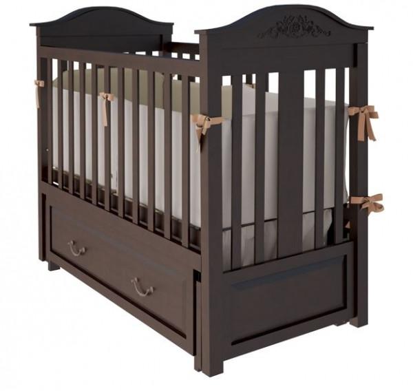 Кроватка Woodman Leonardo, цвет шоколад
