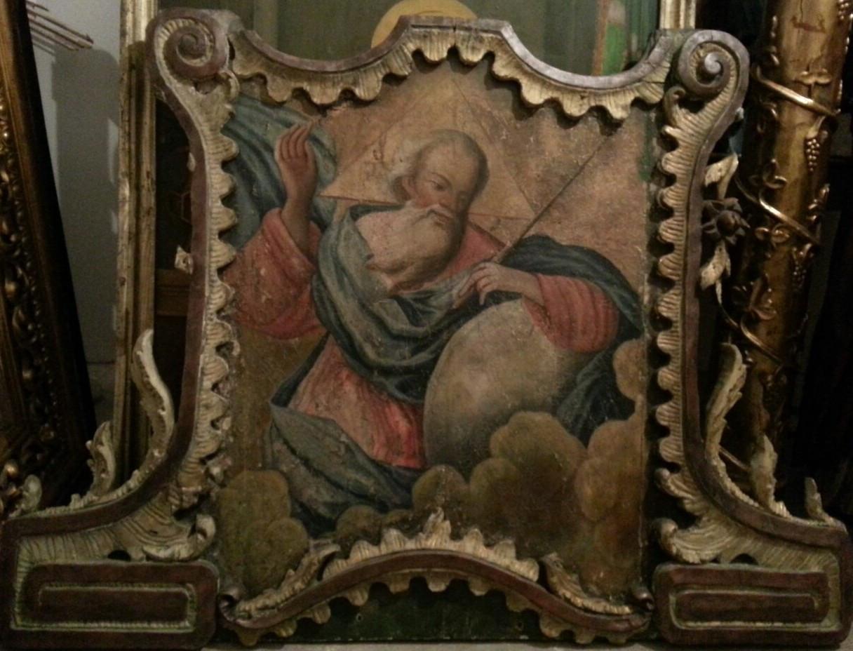Икона Бог Саваоф 19 век