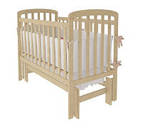 Кроватка Woodman Teddy (универсальный маятниковый механизм), цвет натуральный