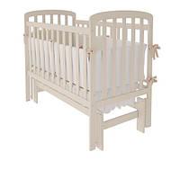 Кроватка Woodman Teddy (универсальный маятниковый механизм), цвет слоновая кость
