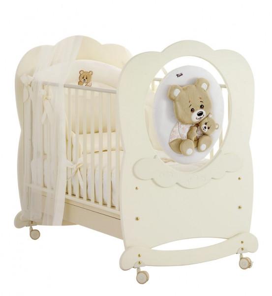 Кроватка премиум-класса Baby Expert Abbracci by Trudi Panna