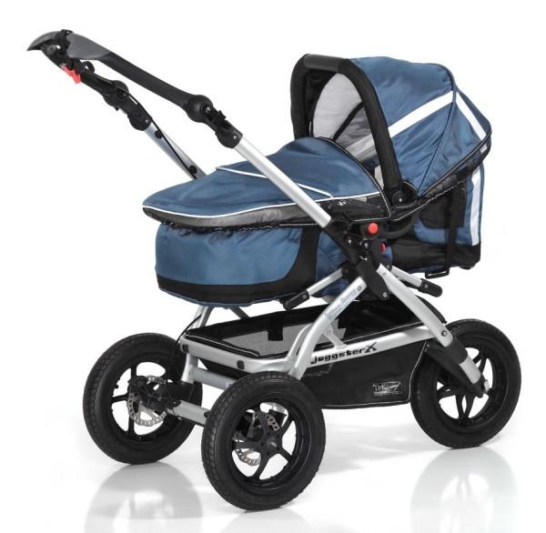Люлька для новорожденного TFK MultiX Carrycot для колясок Joggster X (city, sport, twist), цвет carbo/steel