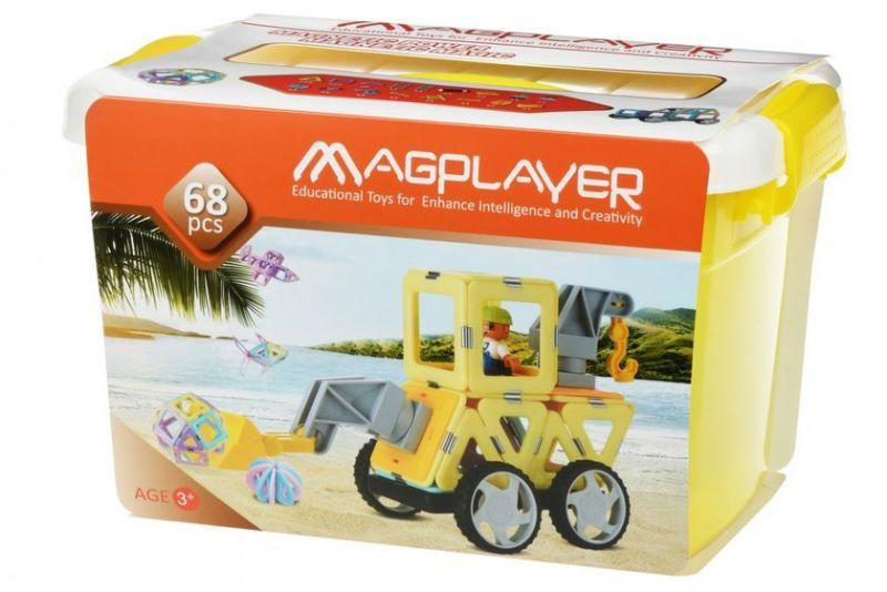 Магнитный конструктор Magplayer MPT2-68