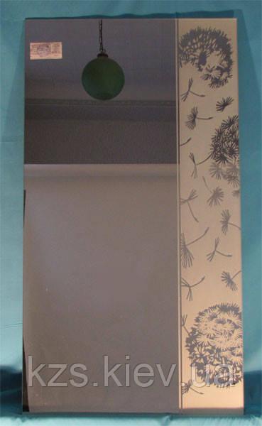 Зеркало с декоративным украшением арт.02.8.3