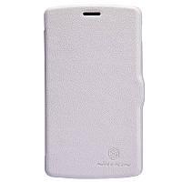 Кожаный чехол Nillkin Fresh для LG Google Nexus 5 белый