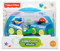Паровозик Little People Wheelies Fisher Price