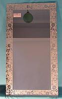 Зеркало с декоративным украшением арт.02.8.4