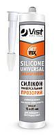Герметик силиконовый универсальный, белый, 280мл