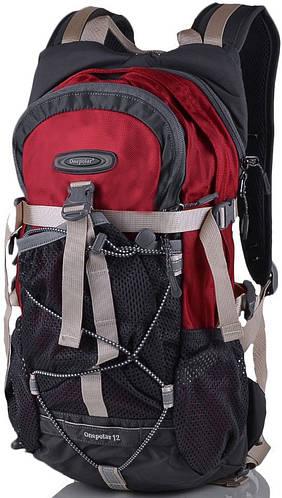 Рюкзак для велосипедиста (для велопоездок) 12 л. Onepolar (Ванполар) W1520-red красный